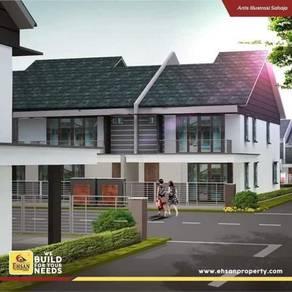 Rumah Teres 2 Tingkat di Rembau, Negeri Sembilan /Rumah Baru