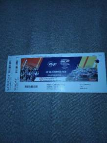 EWC and WTCR tickets