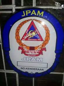 Sticker cermin jpam