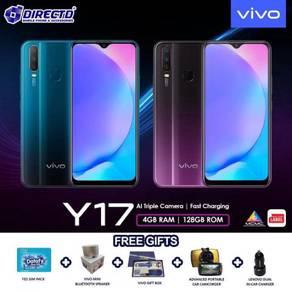 VIVO Y17 (4GB RAM | 128GB ROM)PERCUMA 5 Hadiah