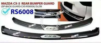 Mazda cx-5 cx5 rear bumper protector bumper guard