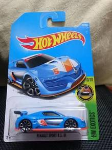 Hotwheels Renault Sport R.S. 01 Gulf color