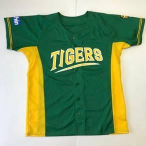 Joshin Tigers Baseball Jersey Jersi