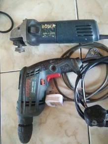 Drill dan grinder
