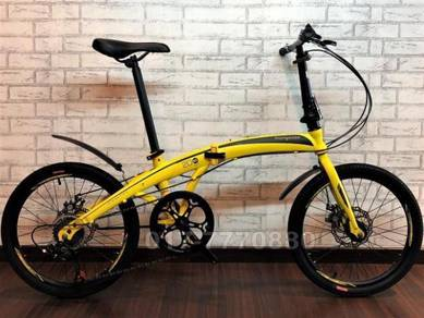 NEW MONGOOSE 7 SPEED Basikal FOLDING BIKE Bicycle