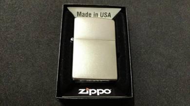 Zippo satin chrome