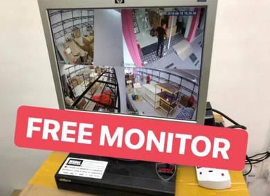 Cctv berserta monitor