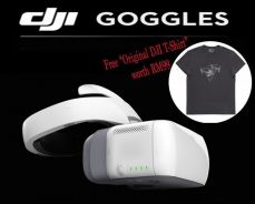 DJI Goggles for DJI Spark / Mavic with DJI T-Shirt