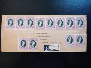 RARE Cover Coronation RAUB 1953 No 3404