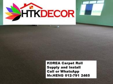 Corat Baru Karpet Roll Siap Pasang QT91