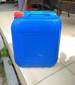 Tong Biru Plastik 25 liter Terpakai high quality