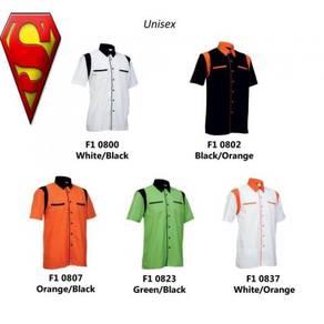 Dd60bu kemeja Uniform Unisex