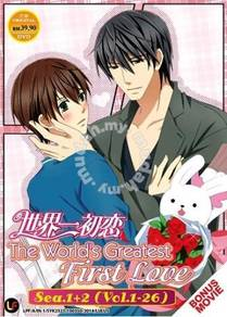 DVD ANIME SEKAI ICHI HATSUKOI Season 1+2+Movie