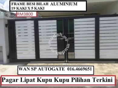 Pendang - Tempahan Gate Aluminium (MYRM3800)
