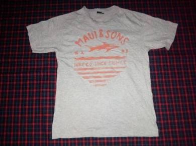 Maui and Sons Grey Tee M (Kod TS3431)