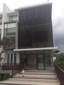 End lot 4 storey courtyard villa residensi embun, kemensah heights