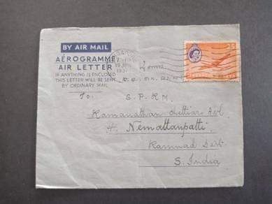 Antik Airletter Singapore 1957 No 2958