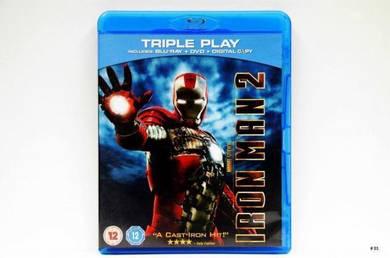 Original Bluray - IRON MAN 2 [2010] 3CD Blu-ray