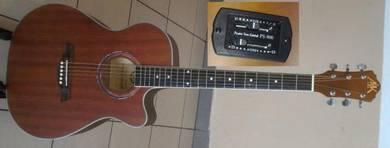 A&K Semi Acoustic Guitar 40 Inch Model 230E