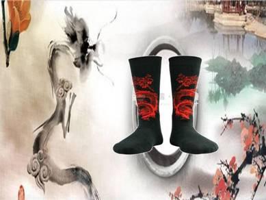 Socks (Thin/Dragon/Red)