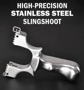 Solid Stainless Steel Clip Slingshot | Lastik Besi