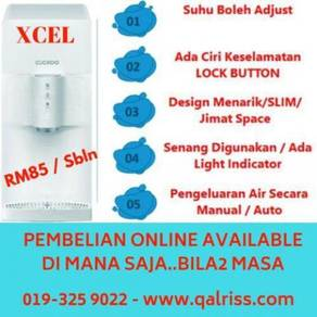 Penapis Air Cuckoo XCEL - 7 thn FREE Pakej Servis