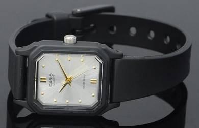Casio Lady Classic Square Rubber Watch LQ-142E-7AD