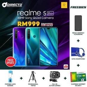 RealMe 5 PRO (8GB RAM/128GB)MYSet + 6 HADIAH POWER