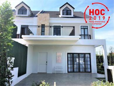 2020 Ready French Double Storey House 5 min to Cyberjaya