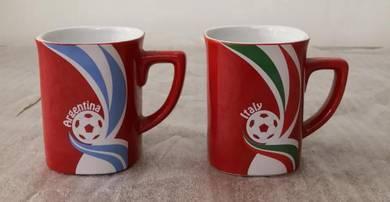 Cawan nescafe world cup mug