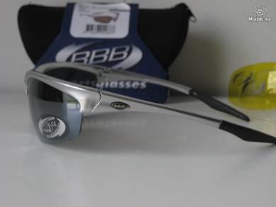 BBB Protector Silver sunglasses - 3 lenses