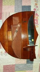 5) CASE XX Alamo Bowie Knife