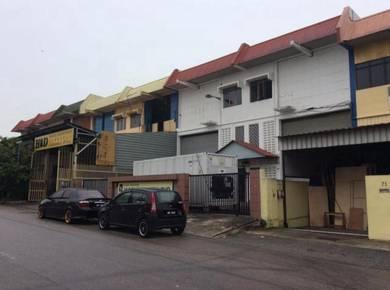 Perindustrian Tampoi 2.5 storey terrace workshop