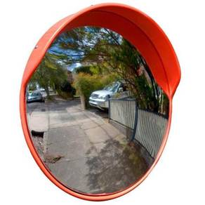 24 inch Outdoor Convex Mirror Stainless Steel