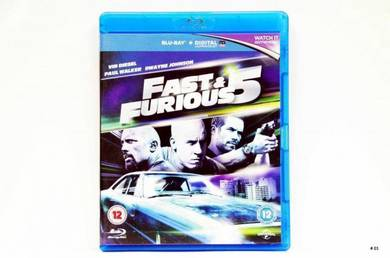 Original Bluray - FAST & FURIOUS 5 [2011] Blu-ray