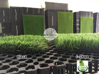 Ace Grass Artificial Grass / Rumput Tiruan C-Shape