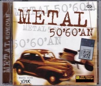 CD XPDC Metal 50'60'an 2CD