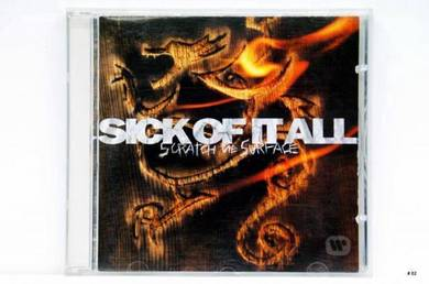 Original CD SICK OF IT ALL Scratch Surface [1994]