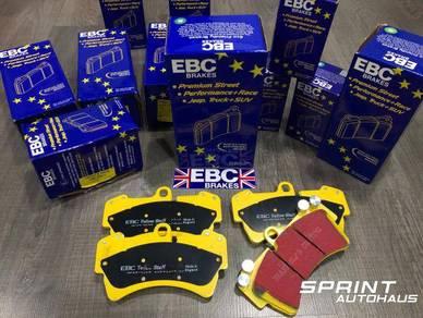 Porsche Cayenne EBC Yellow Stuff Brake Pad