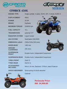 CFMoto All Terrain Vehicle ATV CForce 450L