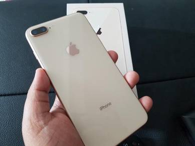 Iphone 8 plus 256gb ROSEGOLD