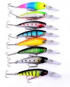 Fishing Lure Gewang 9cm 8.3g x 8 Pieces , Keping