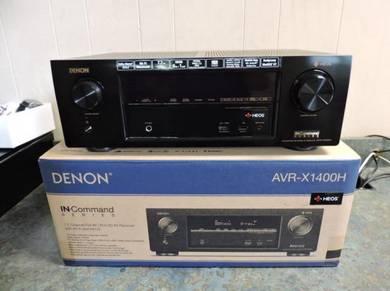 Denon AVR-X-1400H Ultra HD Network AV Receiver