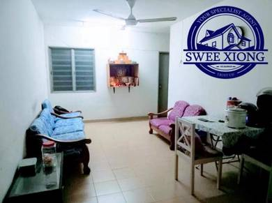 PINANG COURT 2 700SF 1CPk PartlyFurnished at JELUTONG LOW DOWN PAYMENT