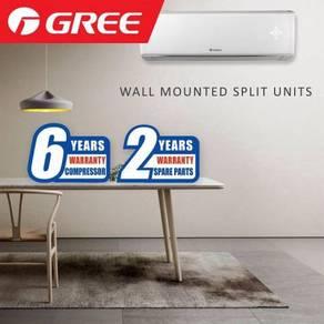 Air Cond Gree 2hp R410a untuk kedai dan pejabat