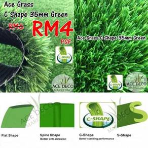 Sale Artificial Grass / Rumput Tiruan C35mm Green