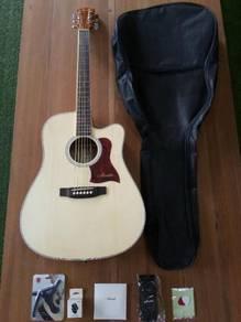Brandnew 41inc Sitka Spruce Acoustic Guitar Packag