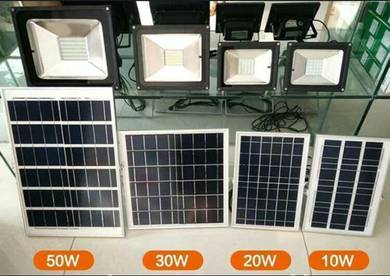 50W Solar Waterproof Flood Light / Lampu Solar
