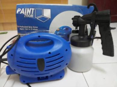 Spray paint zoom