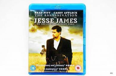 Original Bluray - JESSE JAMES [2007] Blu-ray